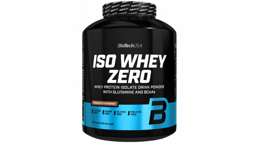 BioTechUSA Iso Whey Zero 2270g-Berry Brownie