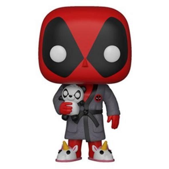 Deadpool - POP!-Vinyl Figur Deadpool im Morgenmantel