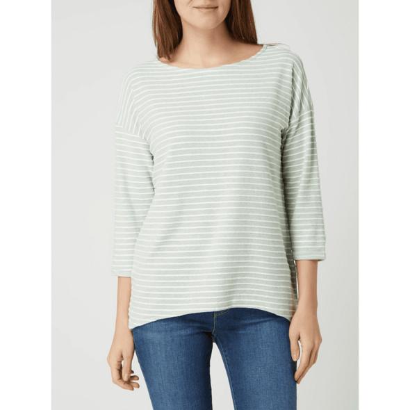Shirt mit Streifenmuster Modell 'Elly'