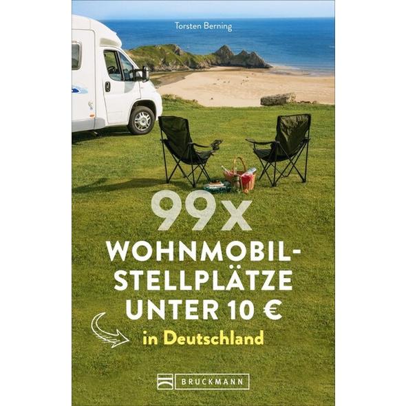 99 x Wohnmobilstellplätze unter 10 € in Deutschland