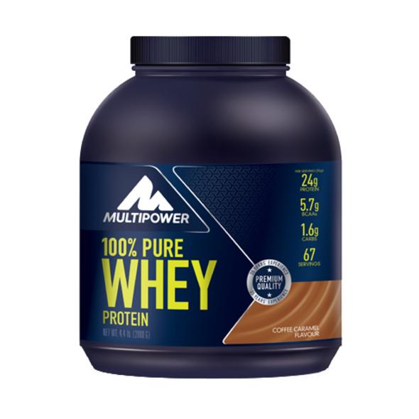 Multipower 100% Pure Whey Protein 2000g-Banana Mango