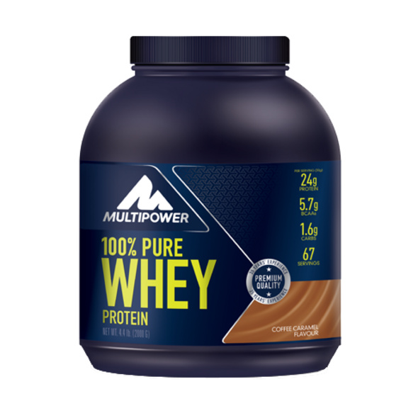 Multipower 100% Pure Whey Protein 2000g-Coffee Caramel