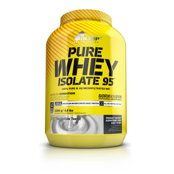 Olimp Pure Whey Isolate 95 2200g Dose-Vanilla