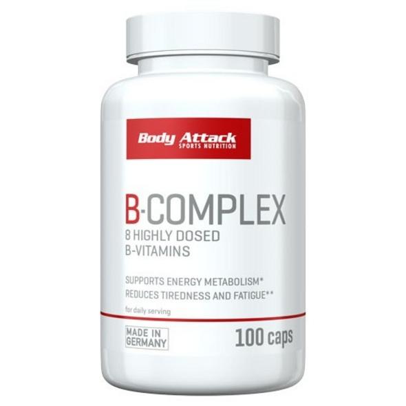 Body Attack Vitamin B-Complex 100 Kapseln