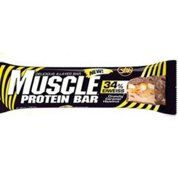 All Stars Muscle Protein Bar 80g-Caramel Chocolate Chunk