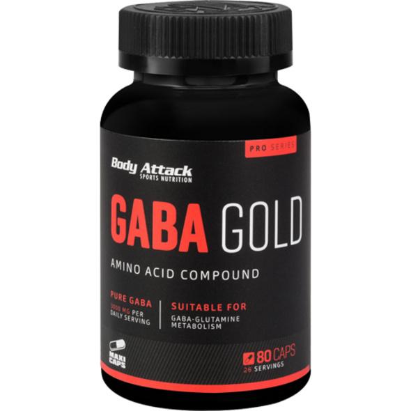 Body Attack Gaba Gold 80 Kapseln