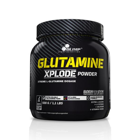 Olimp Glutamin Xplode Powder 500g-Zitrone