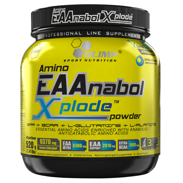 Olimp Amino EAAnabol Xplode 520g-Orange
