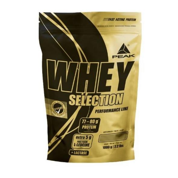 Peak Whey Selection 1000g-Chocolate