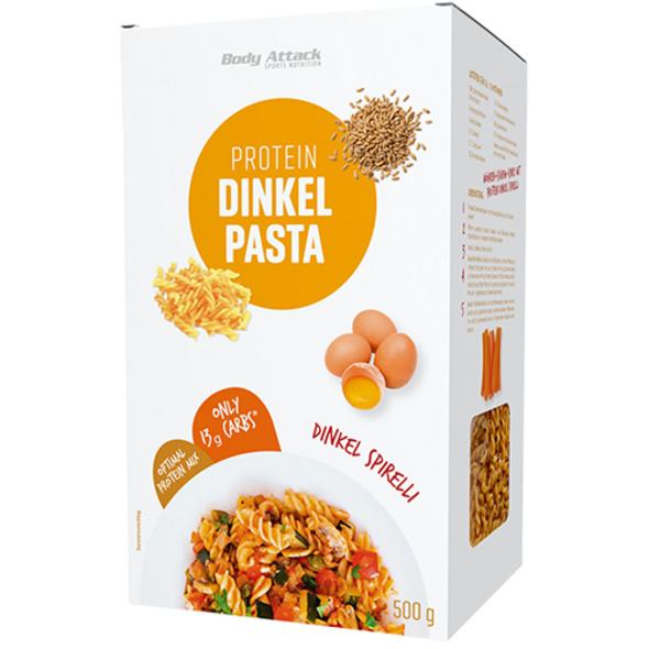 Body Attack Protein Dinkel Pasta Spirelli 500g