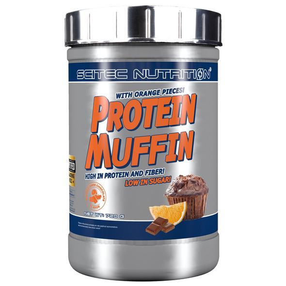 Scitec Nutrition Protein Muffin 720g-Erdbeer-weiße-Schokolade-Kokosnuss
