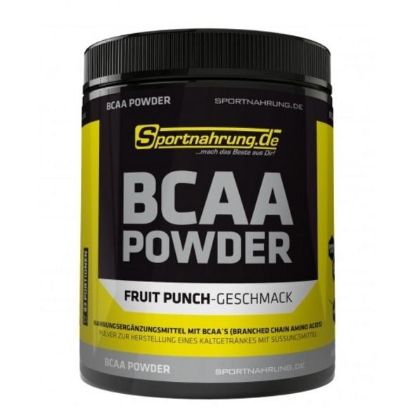 Sportnahrung.de BCAA 2:1:1 - hochdosiertes BCAA-Pulver im Verhältnis. zur Unterstützung von Muskelaufbau (Neutral). 500 g