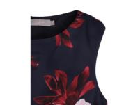 Cocktailkleid mit floralem Muster