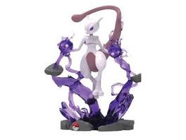 Pokémon - Statue - Mewtu (mit LED)