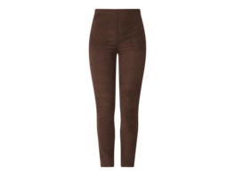 Treggings in Leder-Optik