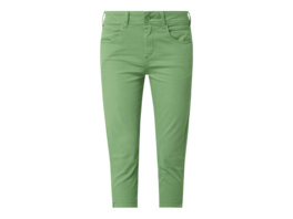 High Waist Slim Fit Caprijeans mit Stretch-Anteil Modell 'Kate'