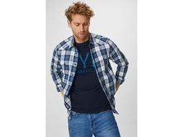 Hemd mit T-Shirt - Slim Fit - Kent - kariert