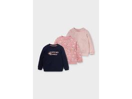 Multipack 3er - Baby-Sweatshirt - Bio-Baumwolle
