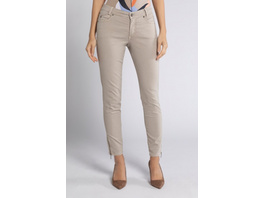 Gina Laura Hose Julia, Saum-Zipper, schmale 5-Pocket-Form