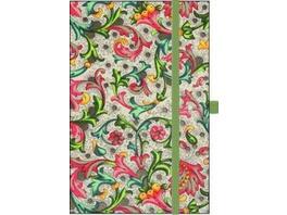 Premium Notes Small Textile 'Vintage Flowers'