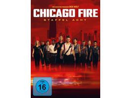 Chicago Fire - Staffel 8  [6 DVDs]