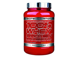 Scitec Nutrition 100% Whey Protein Professional 920g-Banane