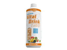 Best Body Nutrition Low Carb Vital Drink 1000ml-Cola