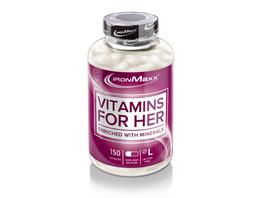 IronMaxx Vitamins for her 150 Kapseln