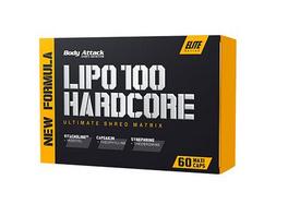 Body Attack Lipo 100 Hardcore 60 Maxi-Kapseln
